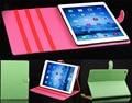 Para apple ipad 6 ipad air 2 caso de cuero magnético inteligente Cubierta de la caja con la Tarjeta/Dinero de Bolsillo Clásico Libro de Piel Cubierta de la Carpeta de la manera