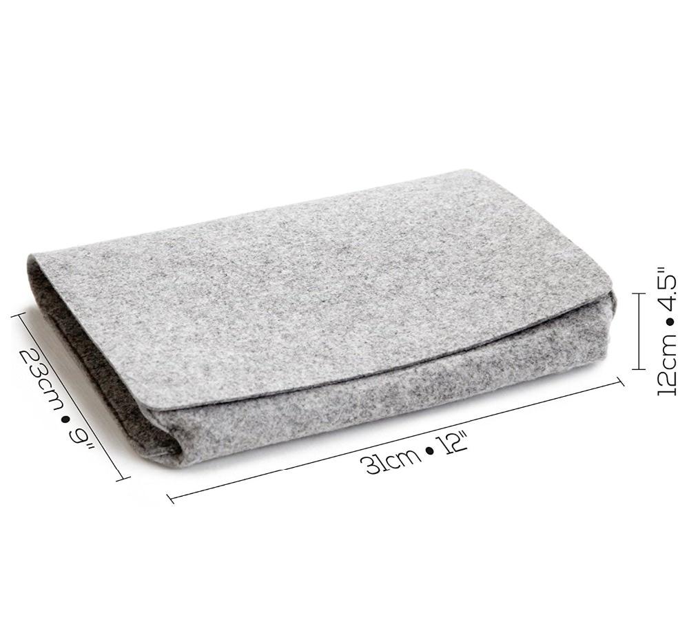 Фетровая прикроватная сумка для хранения органайзер кровать