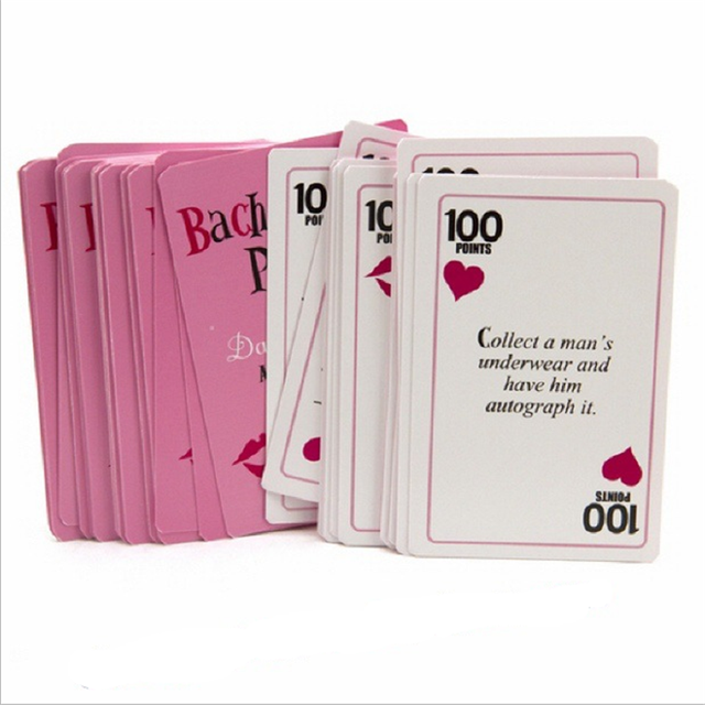 Activity Game Cards for Hen Party Set 52 Pcs
