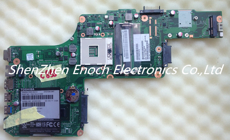 For Toshiba Satellite C850 C855-S5214  Laptop Motherboard  V000275070 6050A2491301-MB-A02  stock No.999