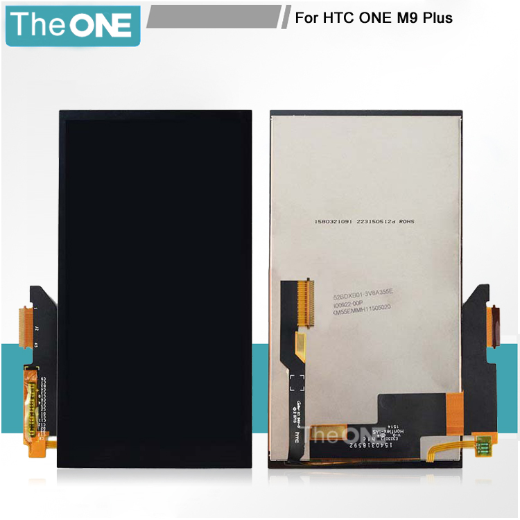 5 pcs For HTC One M9+ M9 Plus LCD Display With Touch Screen Digitizer Assembly Replacement Black Free Shipping