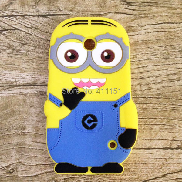 3D Despicable 2 Minions Soft Silicone Back Cover Case Nokia Lumia 630 635 636 638 - ALEX ZHOU Store store