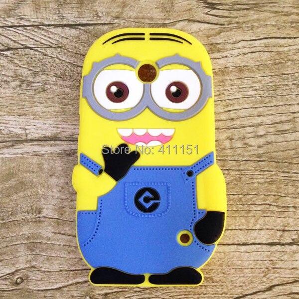3D Despicable 2 Minions Soft Silicone Back Cover Case Nokia Lumia 630 635 636 638 - ALEX ZHOU Store store