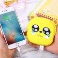 Lo nuevo buena 10400 mah lindo oso/cerdo banco de la energía para xiaomi iphone samsung cargador portátil de copia de seguridad universal de regalo de navidad