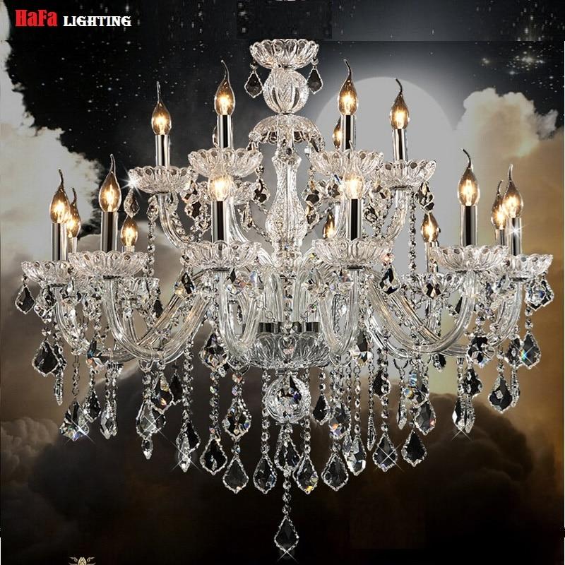 Image 2 - ثريا حديثة بإضاءة من الكريستال ، ثريا حديثة بإضاءة كريستالية ، ثريا داخلية للمنزل ، ثريا لامعةlustres de cristalmodern crystal chandeliercrystal chandelier lighting -