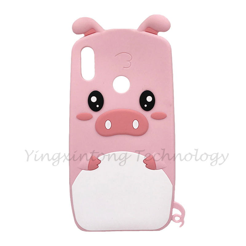 Image 4 - Soft Silicone Phone Case For Huawei P Smart 2019 Case Cute 3D Stitch Cat Unicorn Back Cover For Honor 10 Lite Luxury Funda Coque-in Fitted Cases from Cellphones & Telecommunications