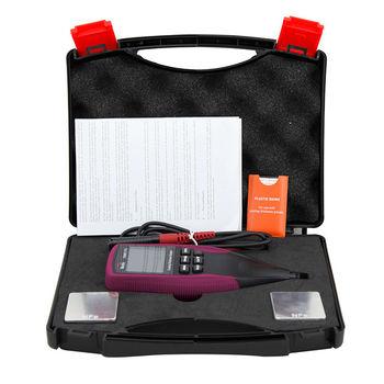 Профессиональный Fe/NFe цифровой датчик толщины покрытия, ЖК-дисплей с подсветкой, автомобильный измеритель толщины краски 0-12 50 мкм, Раздельный зонд CM8811FN
