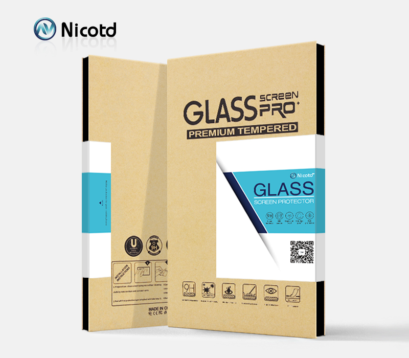 ZYS Screen Protector 100 PCS 0.26mm 9H 2.5D Tempered Glass Film for LG Q9