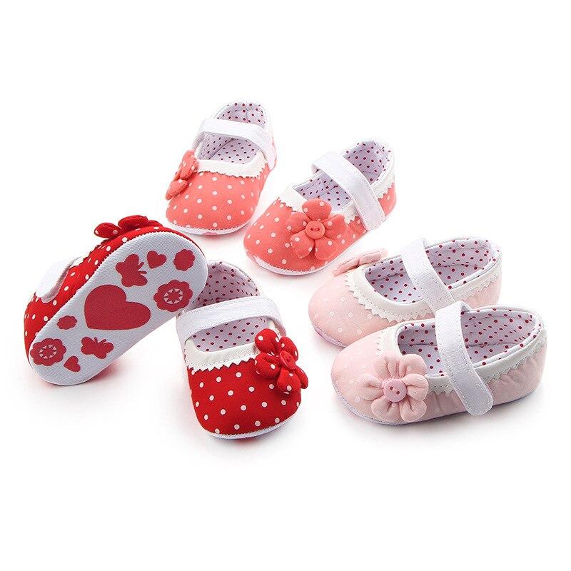 Joyo roy dziewczynek antypoślizgowe bawełniane buty 0-2 lat dzieci - Buty dziecięce - Zdjęcie 1