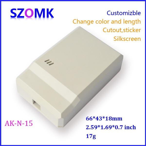 294205e6ea2f5 Szomk prettey للإلكترونيات علبة توزيع إلكترونيات (2 قطع) 66 43 18 ملليمتر  ضميمة إلكترونية بلاستيكية ، مرفقات للإلكترونيات