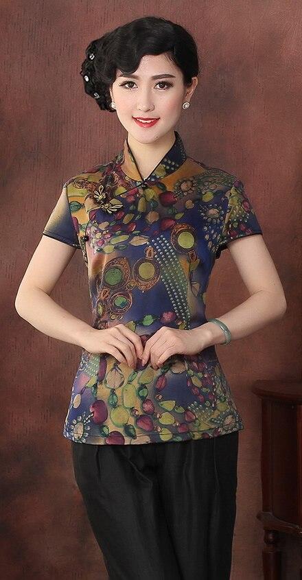 4xl Femmes Casual 3xl Marque Mode L Xl Xxl Arrivée Tops De 100Soie Nouvelle silk0001 Traditionnelle Blouse Chemises OXiuTkZP