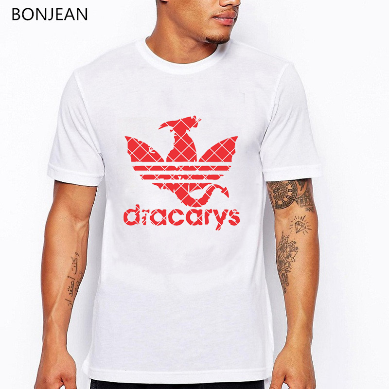 Dracarys Game Of Thrones Tshirt Men Harajuku Vintage Style T Shirt Camisetas Hombre T-Shirt Men Clothing 2019 Tee Shirt Homme