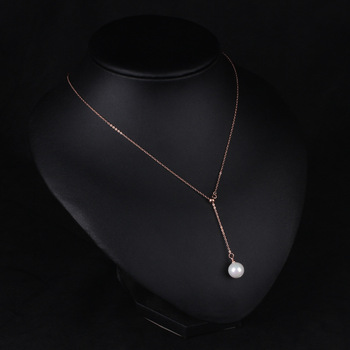 New Korean Version Of The Clavicle Adjustable Imitation Pearl Choker Necklace