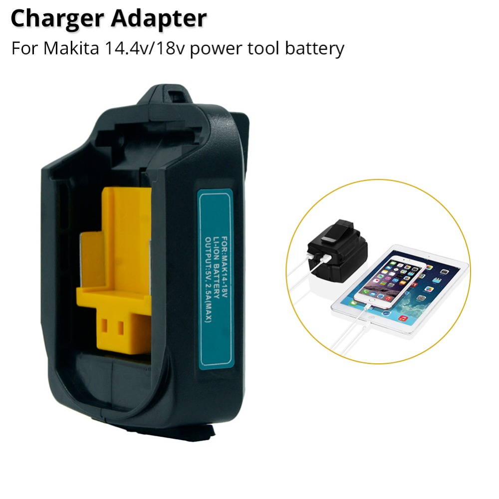 ADP05 Battery Charger 14.4V <font><b>18V</b></font> Li-ion Battery Power Source <font><b>adapter</b></font> converter for <font><b>Makita</b></font> rechargeable battery LXT series image