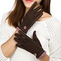Mais recente Luvas Luvas de Inverno Elegante Mulheres Inverno Quente Macio Luvas de Pulso Luvas Mittens luvas 1 Par de Pulso 6 Cores 33155