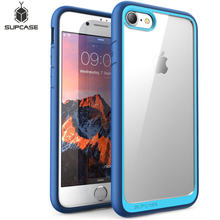SUPCASE For iphone 8 Case For iPhone SE 2020 Case 4.7 inch UB Style Premium Hybrid Protective TPU Bumper + PC Clear Back Cover