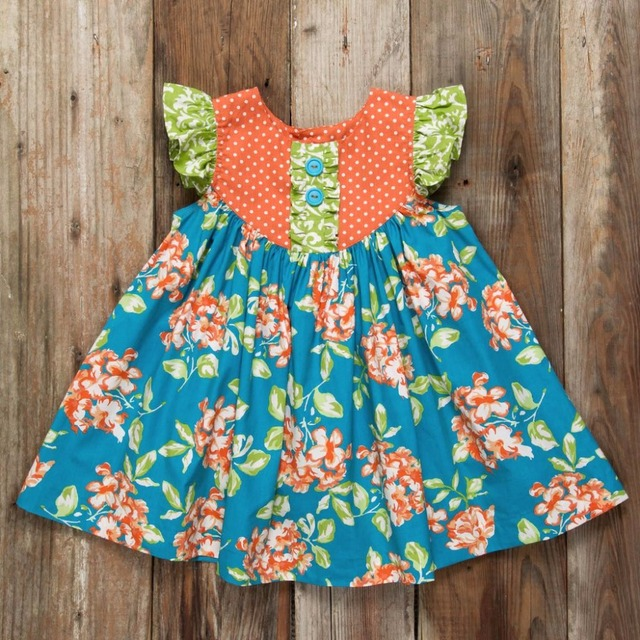 31cf9d78 2018 girls boutique summer dress childrens pearl boutique clothing dress  2018 floral kids clothing