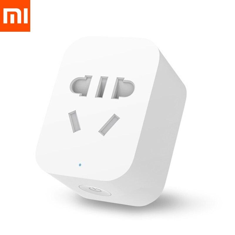 imágenes para Xiaomi xiaomi enchufe enchufe inteligente wifi inalámbrico socket inteligente originai Socket Wifi telligent Control Con APLICACIÓN de Teléfono Enchufe de LA UE Stock