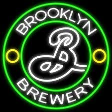 Custom Brooklyn Brewery Glass Neon Light Sign Beer Bar
