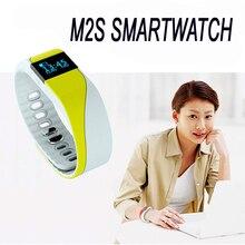 Горячей m2s smart watch with heart rate monitor шагомер функция anitlost браслет bluetooth поддержка android ios пк u8 gt08 miband