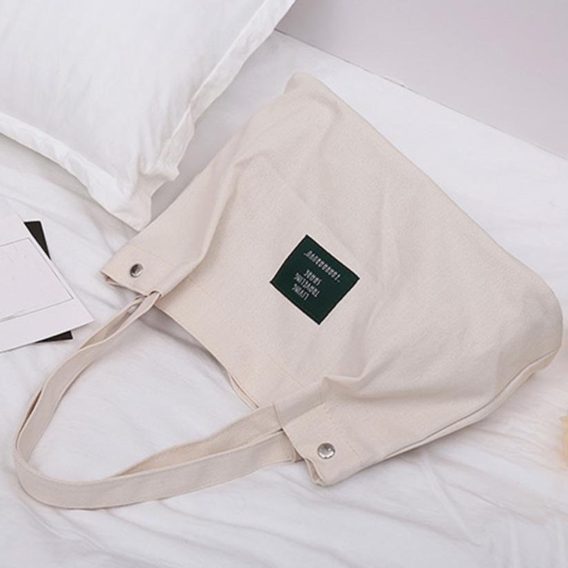 Для женщин в стиле ретро с принтом букв холст сумка плечо сумка женская застежкой небольшой площади сумка # F