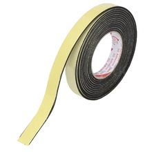 WSFS Hot 5m Black Single Sided Self Adhesive Foam Tape Closed Cell 20mm Wide x 3mm Thick