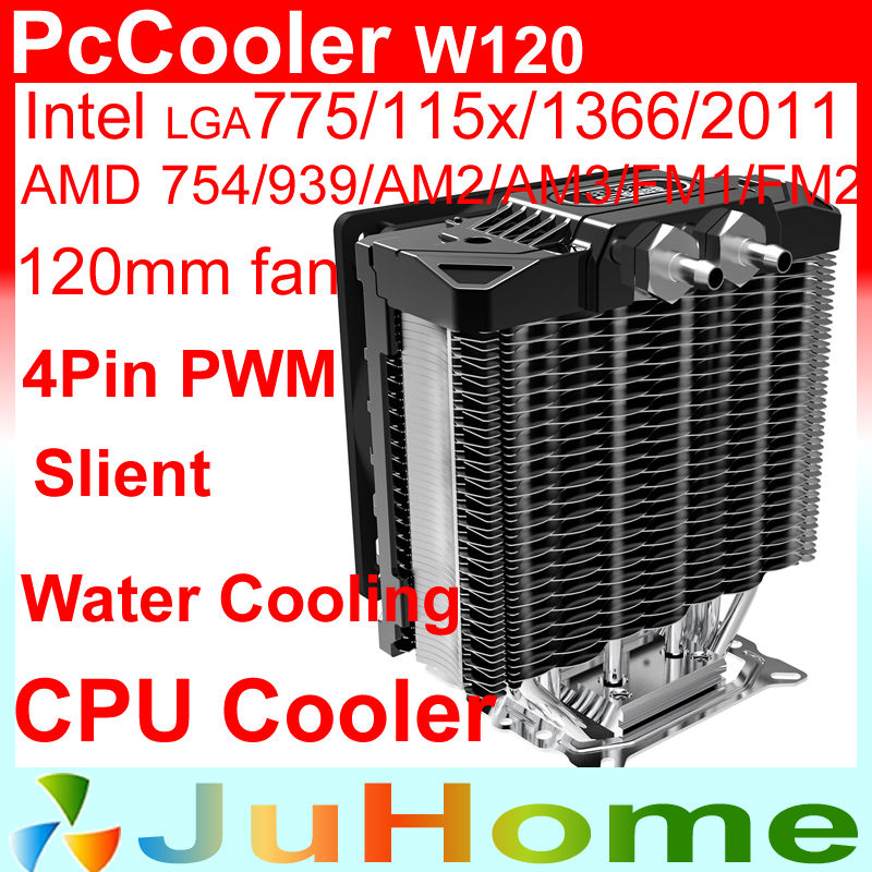 support Water cooling, 120mm fan, 5 heatpipe, Air cooling for Intel LGA2011/115x/1366, for AMD All platforms, PcCooler W120 thermalright le grand macho rt computer coolers amd intel cpu heatsink radiatorlga 775 2011 1366 am3 am4 fm2 fm1 coolers fan