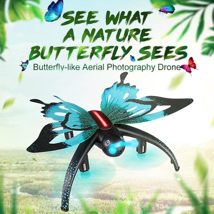 Human Butterfly Drone