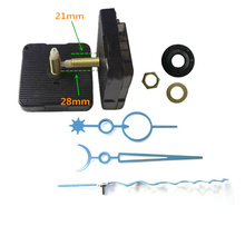 1 set hot sale 28mm shaft Clock Movement DIY Wall hand Mechanism Parts Wavy pointer Replacement Repair needle