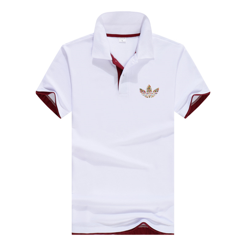 2018 men's fashion breathable men's   Polo   shirt designer   Polo   men's cotton shirt clothes large size jersey golf tennis