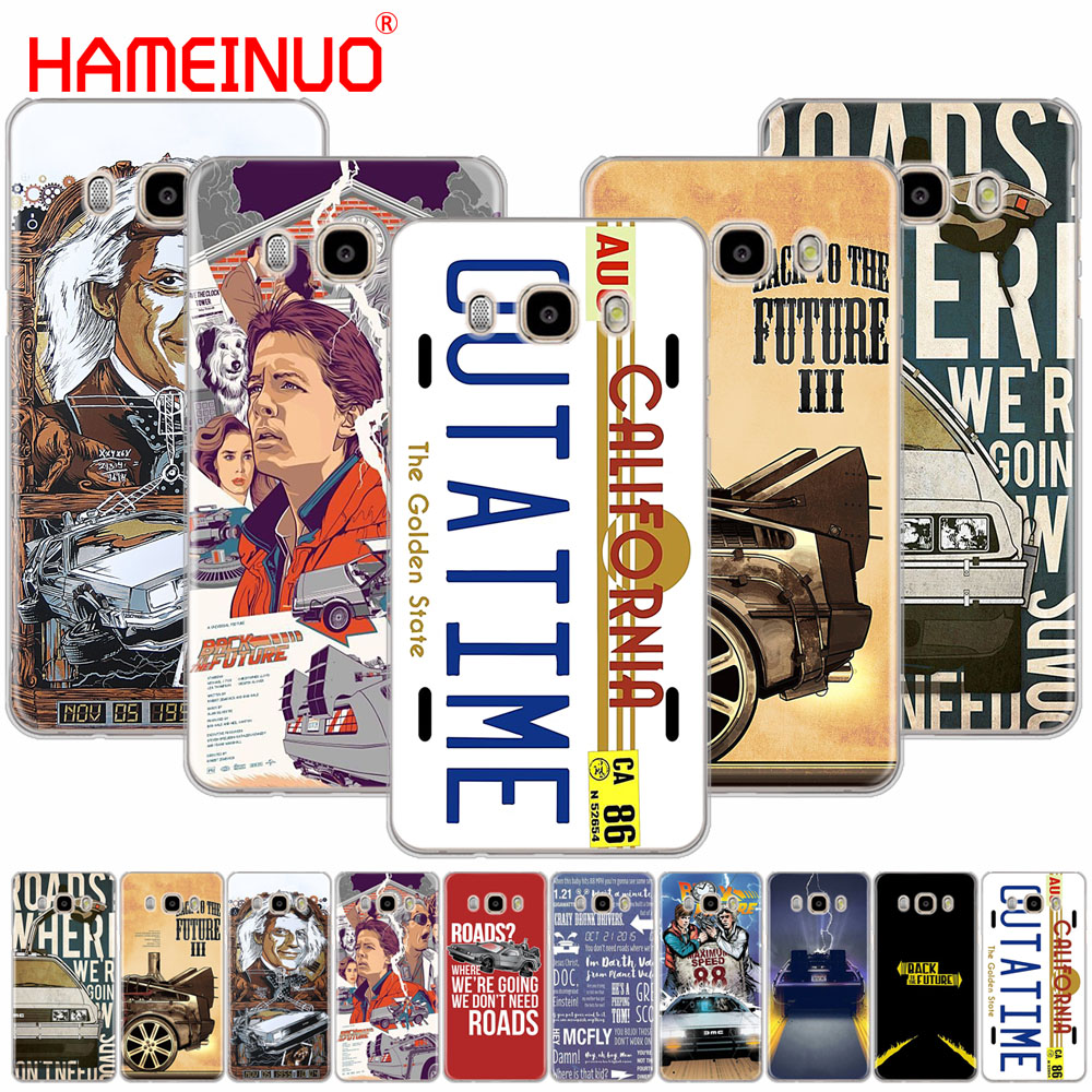 HAMEINUO Back to the Future cover phone case for Samsung Galaxy J1 J2 J3 J5 J7 MINI ACE 2016 2015 prime