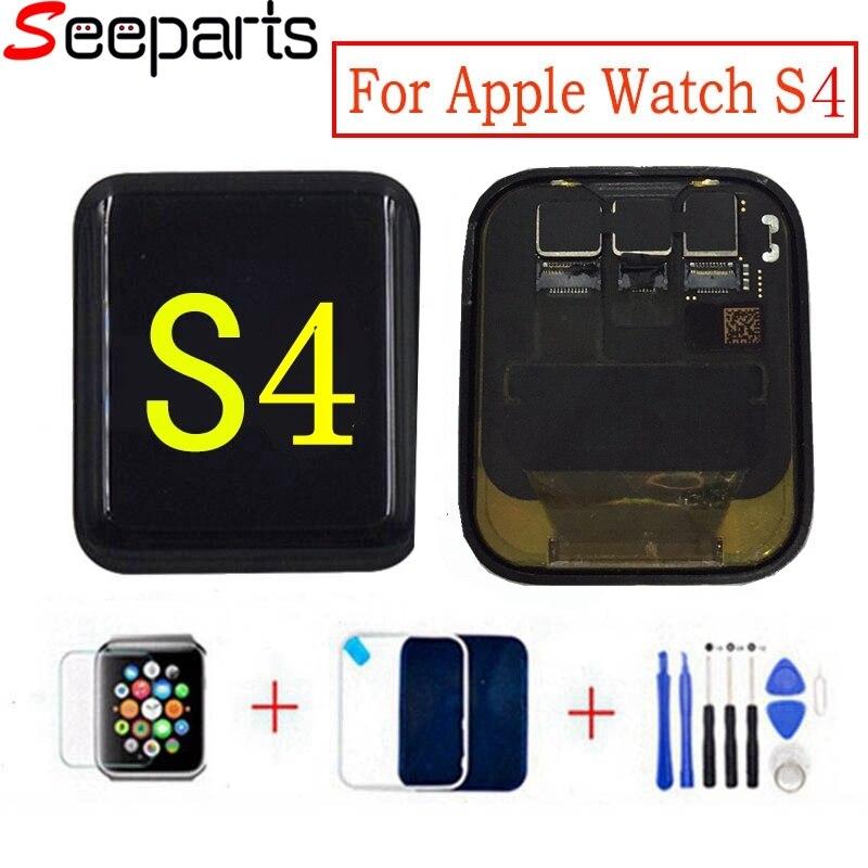 LTE/GPS reloj para Apple 4 LCD de pantalla táctil asamblea de pantalla para Apple Watch serie 4 serie LCD S4 pantalla de reemplazo de partes