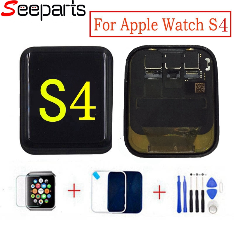 LTE/ <font><b>GPS</b></font> For <font><b>Apple</b></font> <font><b>Watch</b></font> 4 LCD Display Touch Screen Assembly For <font><b>Apple</b></font> <font><b>Watch</b></font> <font><b>Series</b></font> 4 LCD <font><b>Series</b></font> S4 Pantalla Replacement Parts image