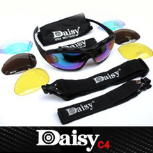 Good Sale Goggles Daisy C4 Outdoor Cycle Sunglasses Oculos Ciclismo Hiking Cycling Eye Protection Glasses With