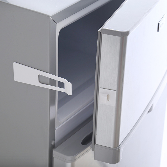 Child Safety Lock Refrigerator Cabinets Lock for Baby Security Anti-pinch Safe Protection From Children Baby Proofing Products