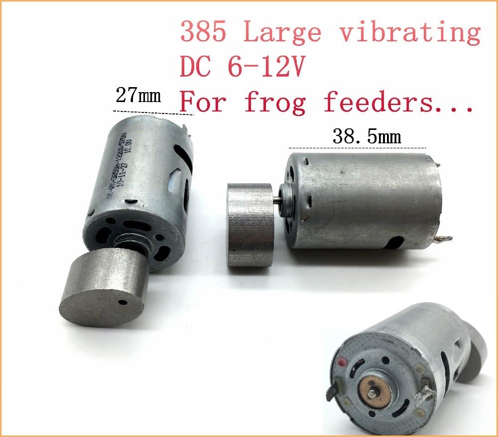1pcs 385 Large Vibrating Dc Motor 6 12v For Frog Feeders