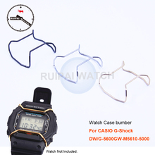 Watch Case Protection Ring Stainless Steel Golden Silver Black Watch