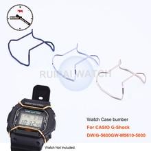 9a5ce95e9b3 Caixa de relógio Anel de Proteção Em Aço Inoxidável Caixa do Relógio de  Ouro Prata Preto Acessórios Para Carros para G-Choque DW.
