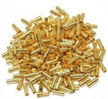 100 pcs(50 pairs) Gold Bullet Banana Connector Plug 2.0 3.5 4.0 5.0 6.0 mm For Quadcopter Motor ESC Lipo Battery Connecting Part