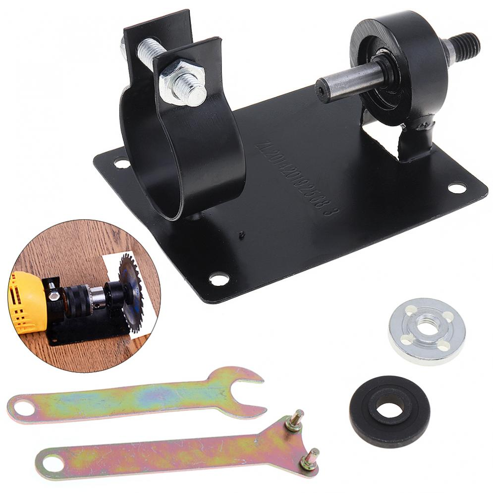 5pcs/lot 13mm Electric Drill Cutting Seat Stand Holder Set With 2 Wrenchs And 2 Gaskets For Grinding