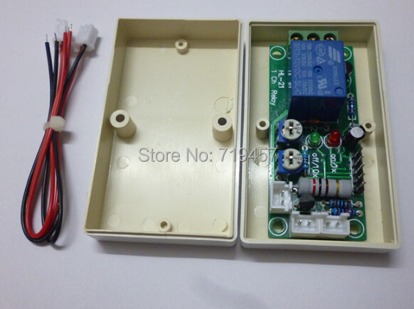 FREE SHIPPING Vibration Module Sensor Relay Switch Sensitivity And Time Delay Adjustable Security Industrial Grade