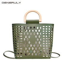 2019 Summer Bag Women Hollow Out Boho Designer Bags Shopping Fashion Designer Luxury Handbags Set Women Bolsos Mujer Verano