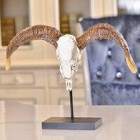 Вход новоселье подарок компания открыла новый дом украшения Смола украшения домашнего декора ремесла овец головы Lucky