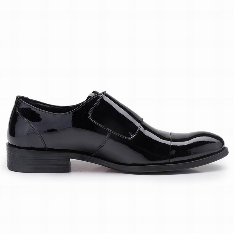 Eioupi Verdaderos Superior Zapatos 17 Nuevo Diseño E8012 Formales Charol Del Respirable Negocio Los Llenos Zapato FBBA1xq