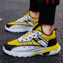 2019 Stylish Hot Sale  Running Shoes for Men Athletic Light Breathable Sports Walking  Mesh Mixed Color Trainer Shoes hot sale running shoes for men professional conshioning mens sports shoes breathable mesh athletic sneaker shoes size46 xrmb001