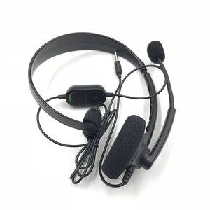 Image 4 - Original Black Wired Chat Chatting Gamer Headset Headsets Headphone With Mic For Xbox One for Microsoft XBOX ONE S version