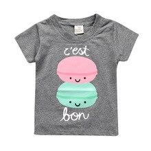 Kids Tales Summer Clothing Baby Boy Girls T-shirt Cotton Short Sleeve T-shirt Kid Boy Girls Casual Sport T-shirt