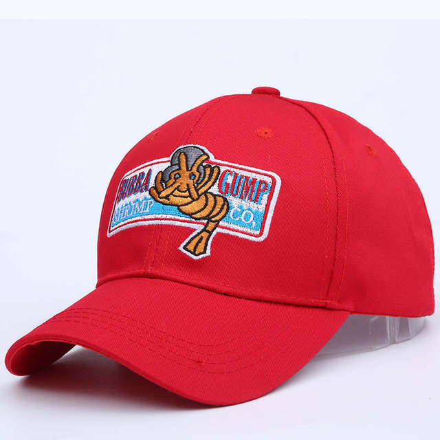 676aa9609e9 VORON new 1994 BUBBA GUMP SHRIMP CO. Baseball cap men women Sport Summer  Cap Embroidered summer Hat Forrest Gump Costume