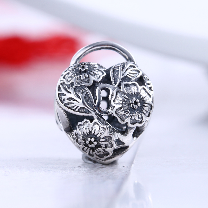 Authentic 100% 925 Sterling Silver Christmas Envelope Fit Original Pandora Bracelet DIY Charms Beads for Jewelry Making