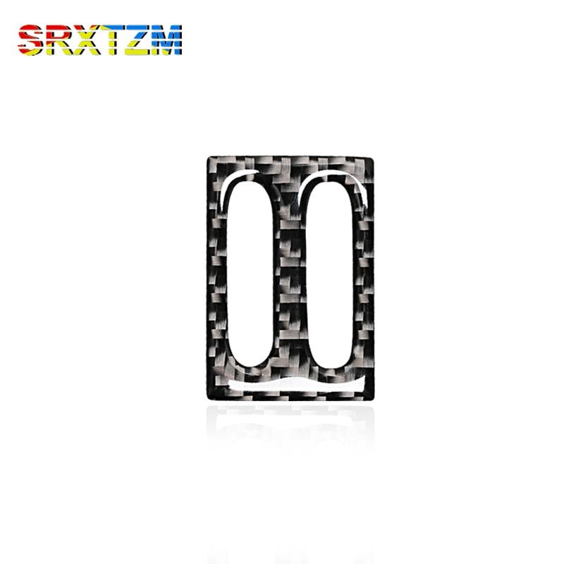 srxtzm high quality accessories 3d carbon fiber air outlet